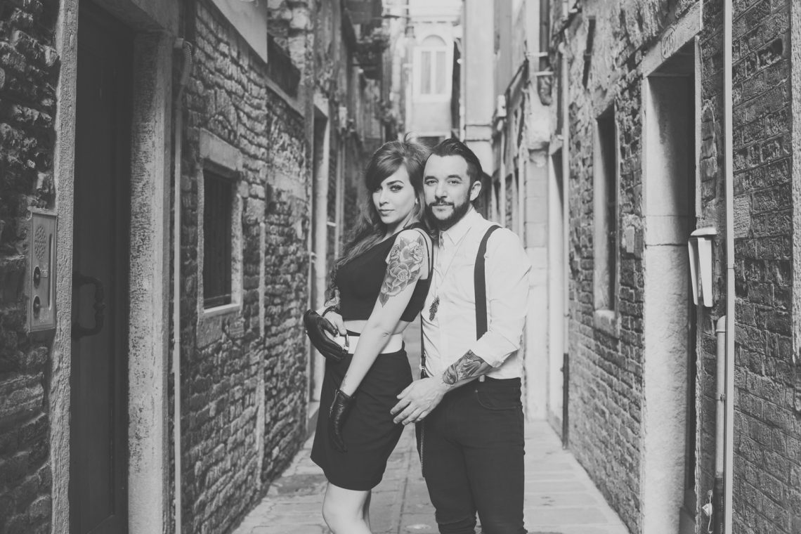 foto di coppia venezia