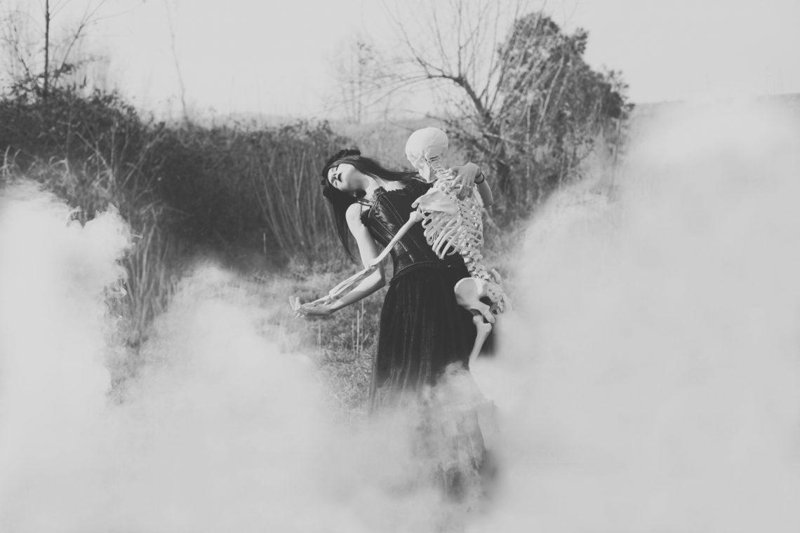ritratto fotografico dark