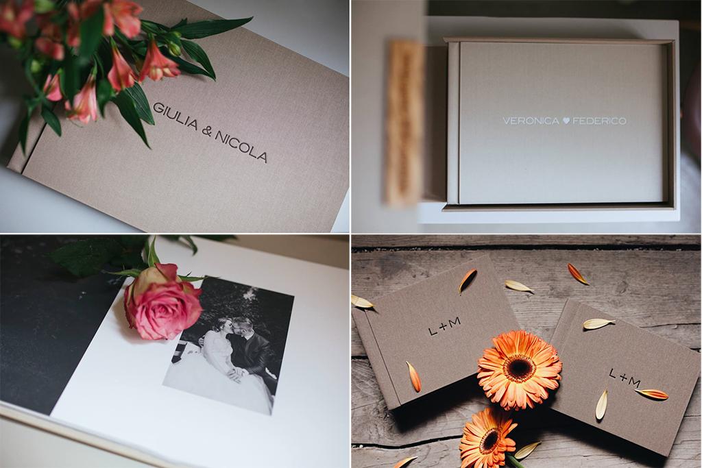 album Deborah Brugnera fotografa treviso conegliano album matrimonio Artphoto Evaluna - esempi di album, scatola, interno e parents book
