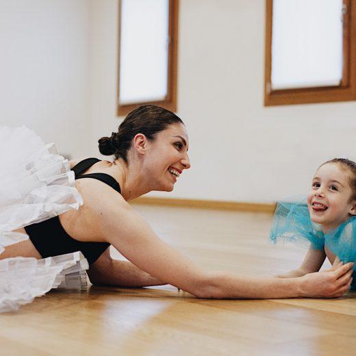 Foto ritratto madre e figlia