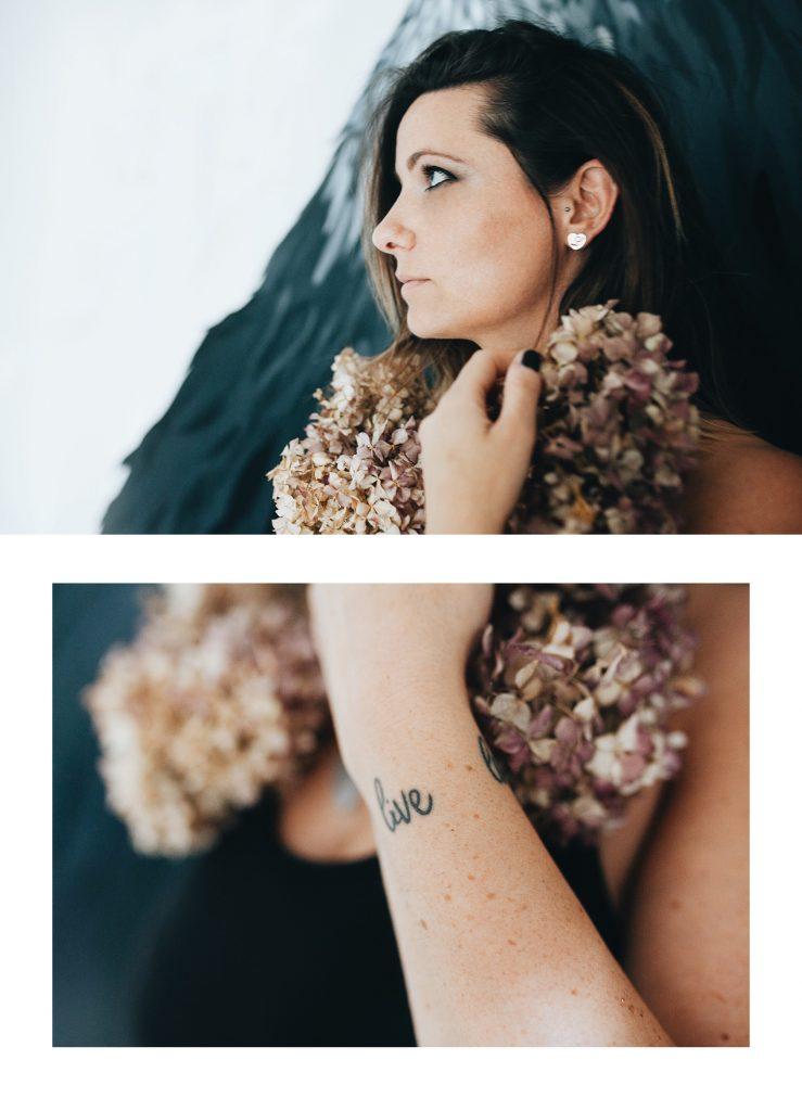 sulla mia pelle Laura progetto ritratto emozionale conegliano
