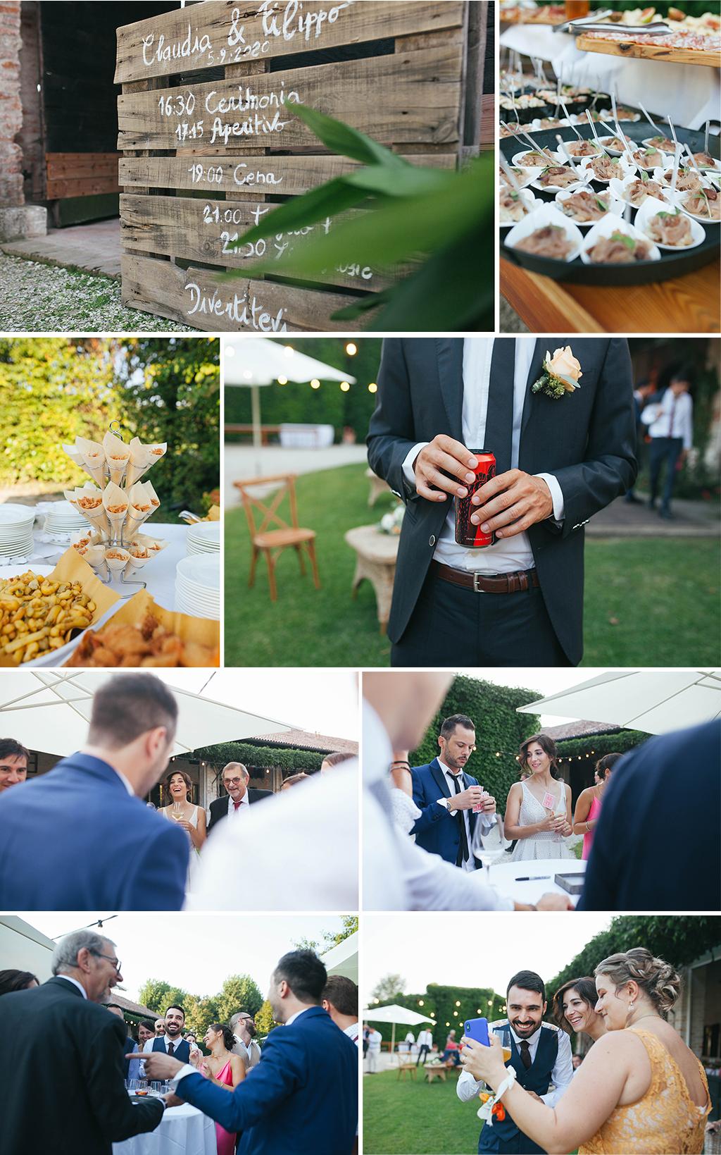 matrimonio le risare padova conegliano treviso veneto Deborah Brugnera ricevimento aperitivo matrimonio