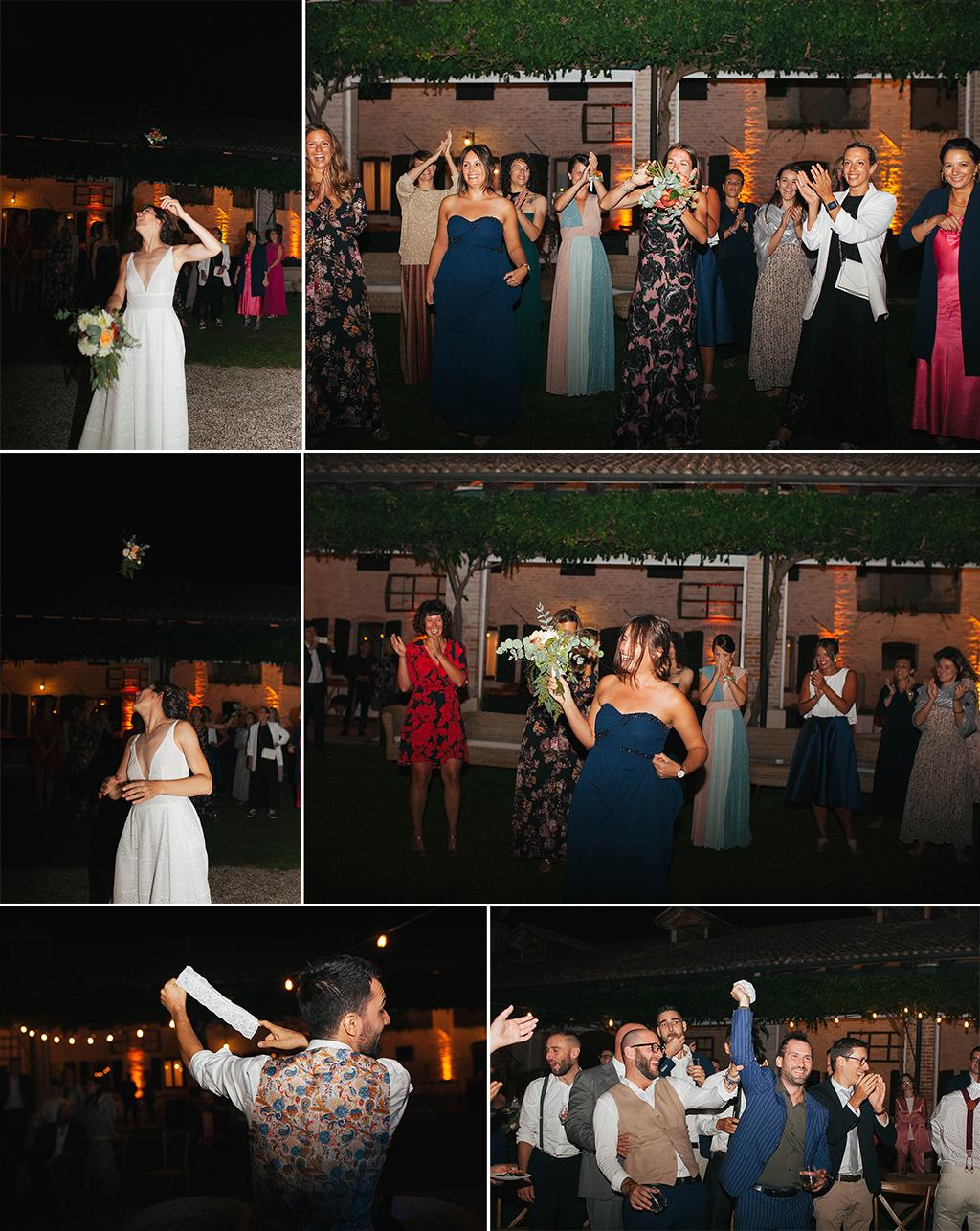 matrimonio le risare padova conegliano treviso veneto Deborah Brugnera ricevimento matrimonio lancio bouquet