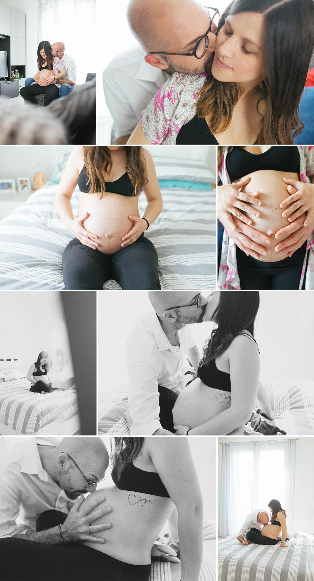 servizio fotografico gravidanza venezia spinea ascolto del bambino